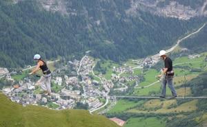 Klettersteig Lauterbrunnen : Klettersteige: klettersteig allmenalp 2km bergwelten
