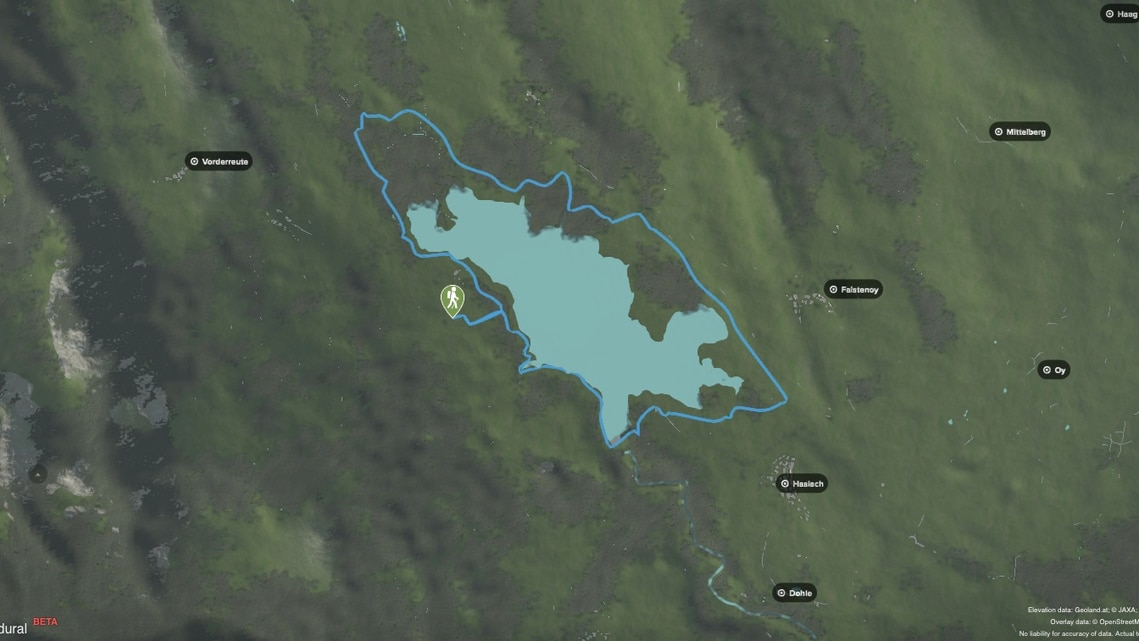 Elevation data: Geoland.at; © JAXA; NASA (SRTM)
