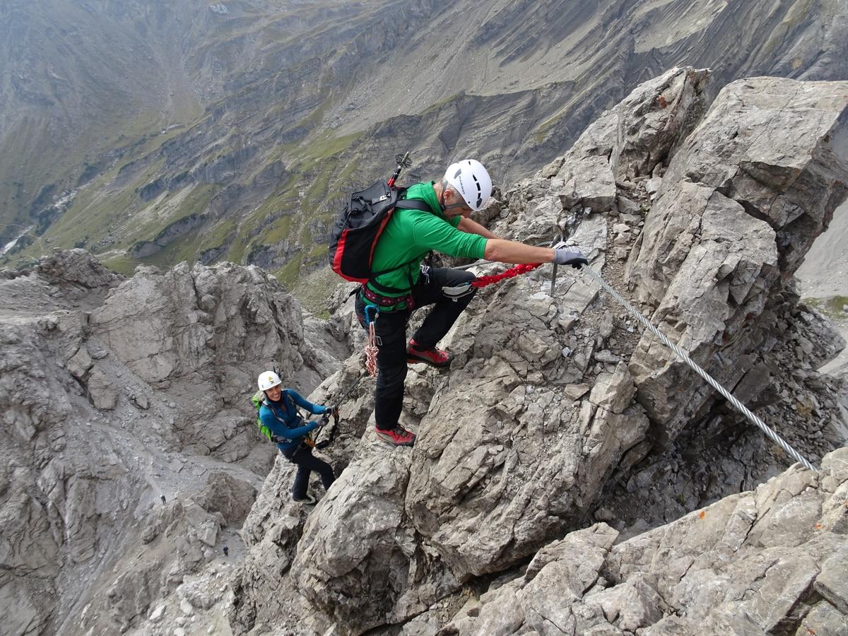 Fallbach Klettersteig Vorarlberg : Klettersteige: imster klettersteig maldonkopf 1km bergwelten