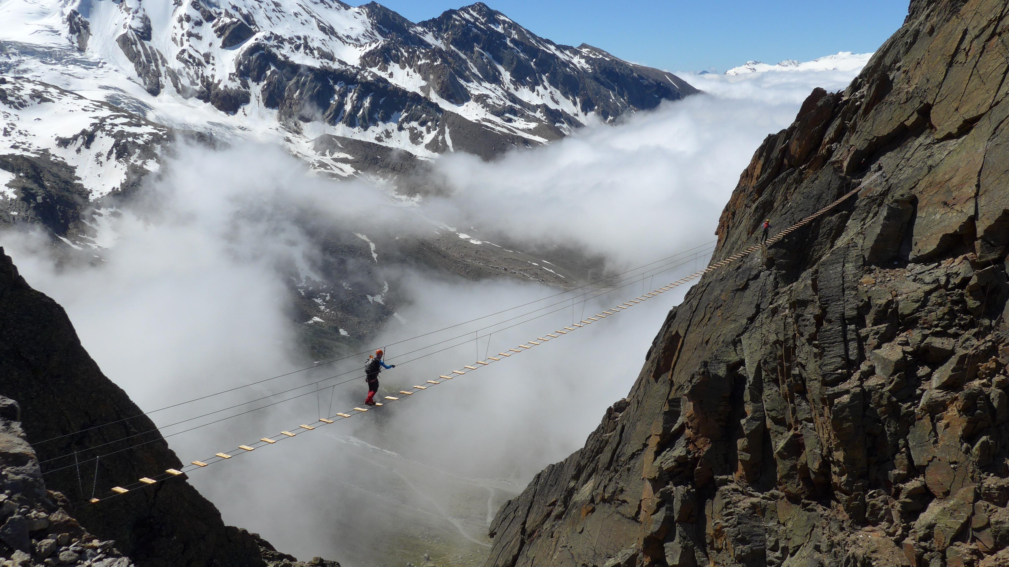 Klettersteig Uri : Klettersteig diavolo uri via ferrata