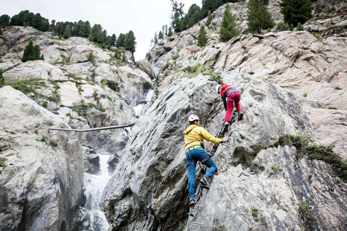 Klettersteig Rating : Klettersteige: u201eholderli sepplu201c klettersteig 0km bergwelten