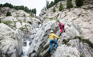 Klettersteig Graubünden : Klettersteige: klettersteig brunnistöckli 1km bergwelten