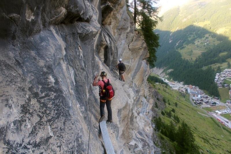 Klettersteig C : Klettersteige klettersteig schweifinen route c km bergwelten