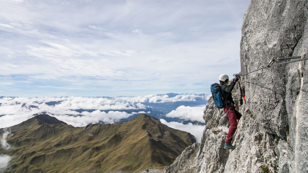 Klettersteig Graubünden : Klettersteige: sulzfluh 11km bergwelten