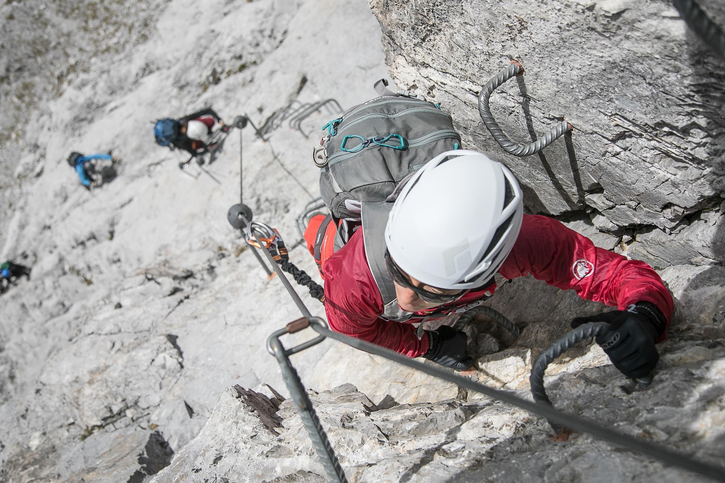 Klettersteig Sulzfluh : Klettersteige sulzfluh km bergwelten