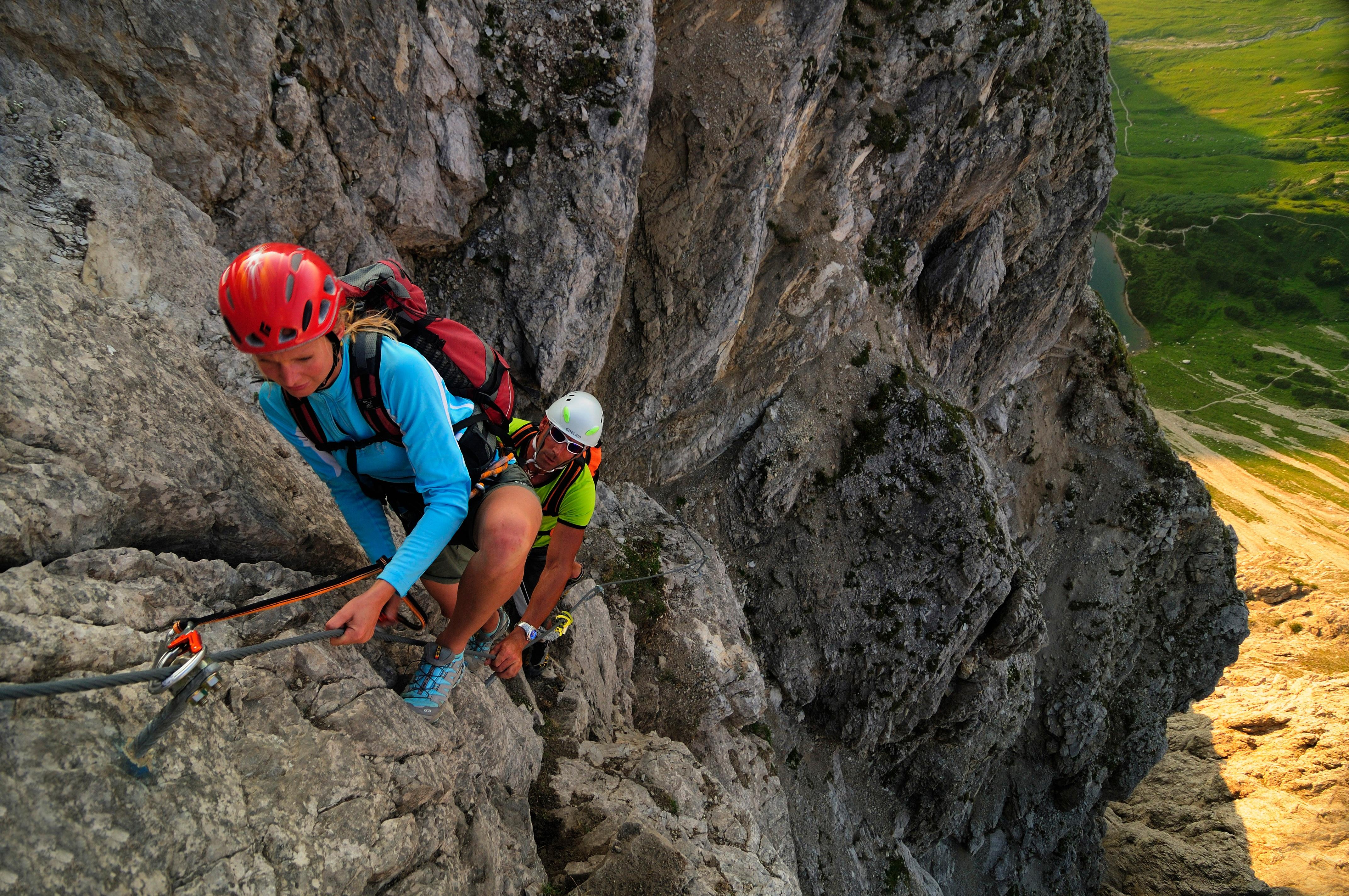 Klettersteig Lachenspitze Bilder : File klettersteig an der lachenspitze g wikimedia commons