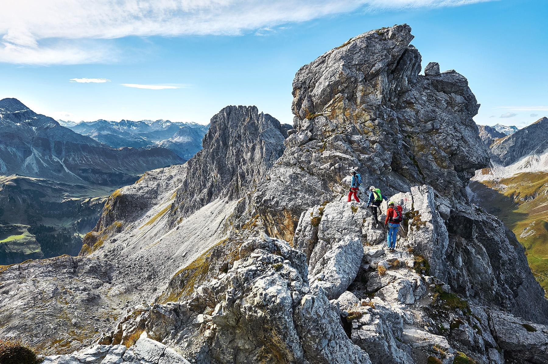 Klettersteig Kleinwalsertal : Klettersteige mindelheimer km bergwelten