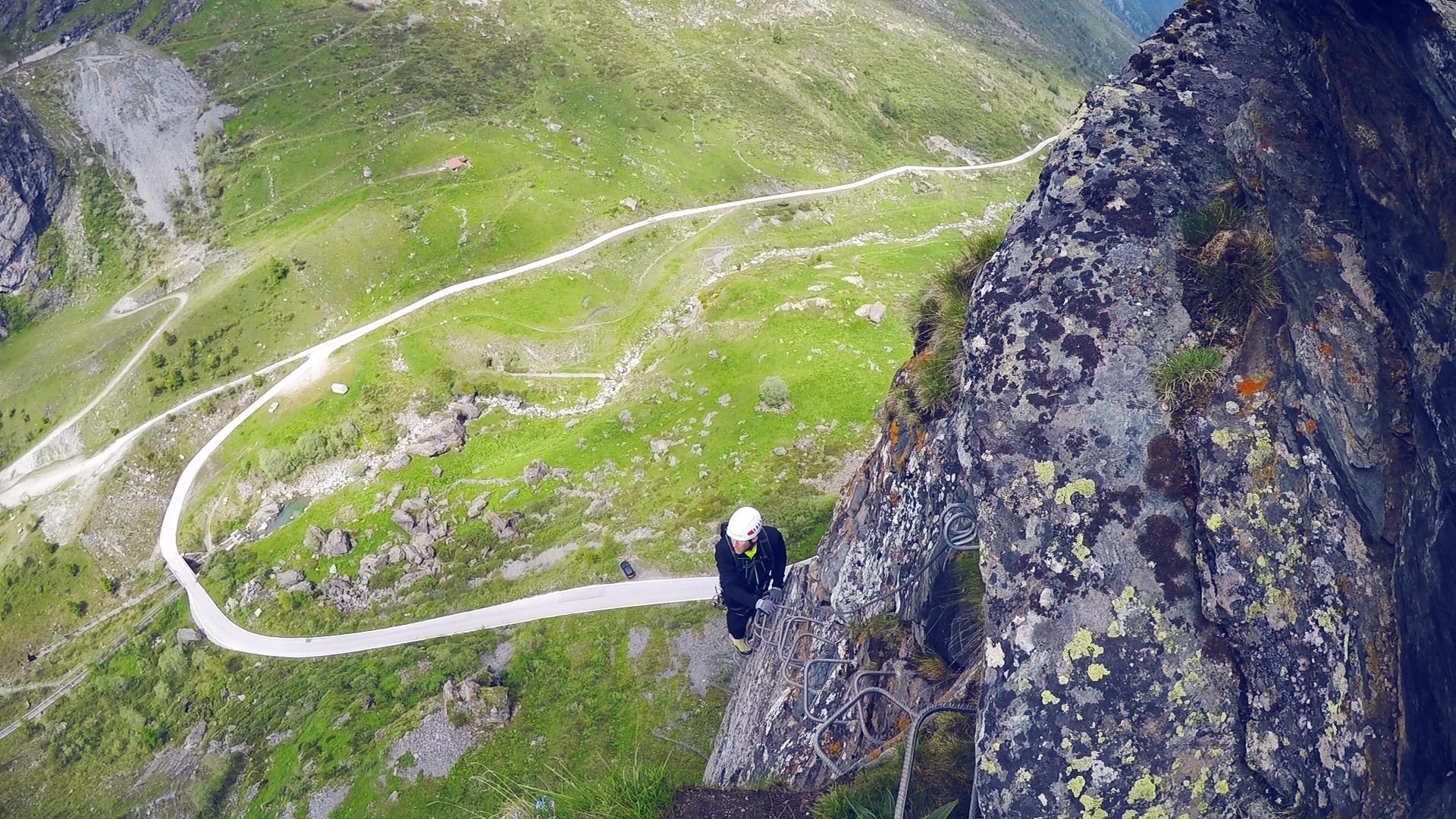 Klettersteig Wallis : Klettersteige klettersteig moiry km bergwelten