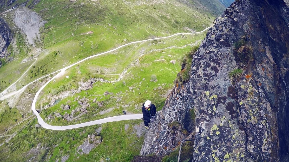 Klettersteig Wallis : Klettersteige: klettersteig moiry 3km bergwelten