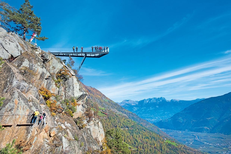 Klettersteig Naturns Knott : Klettersteige knott klettersteig in unterstell oberhalb naturns