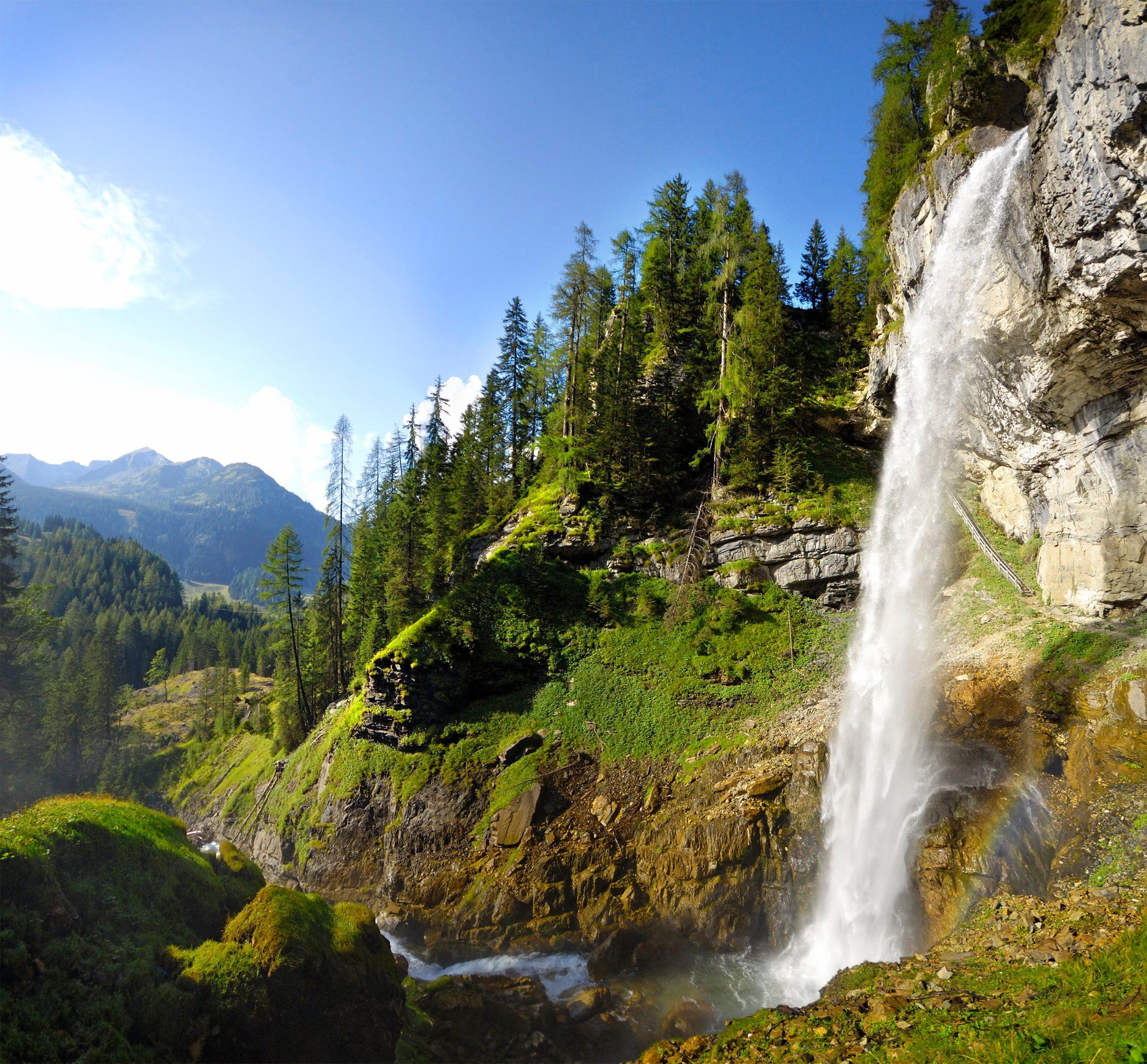 Wandern: Johanneswasserfall in Obertauern - Bergwelten