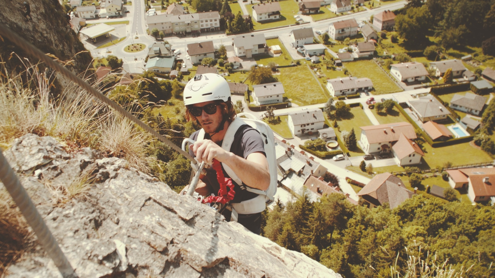 Klettersteig Griffen : Klagenfurter saß in klettersteig fest griffen minuten