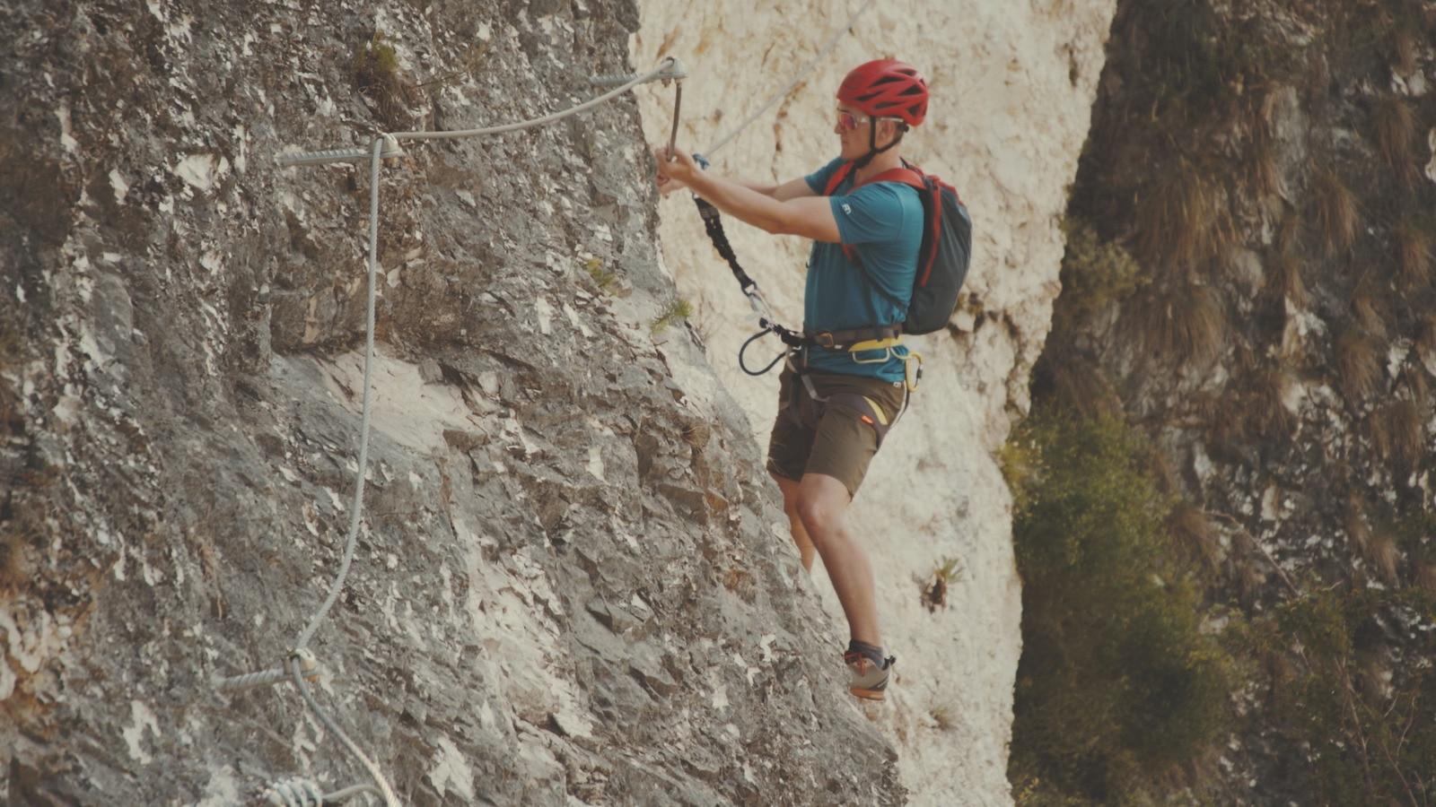 Klettersteig Griffen : Schlossberg klettersteig griffen kärnten