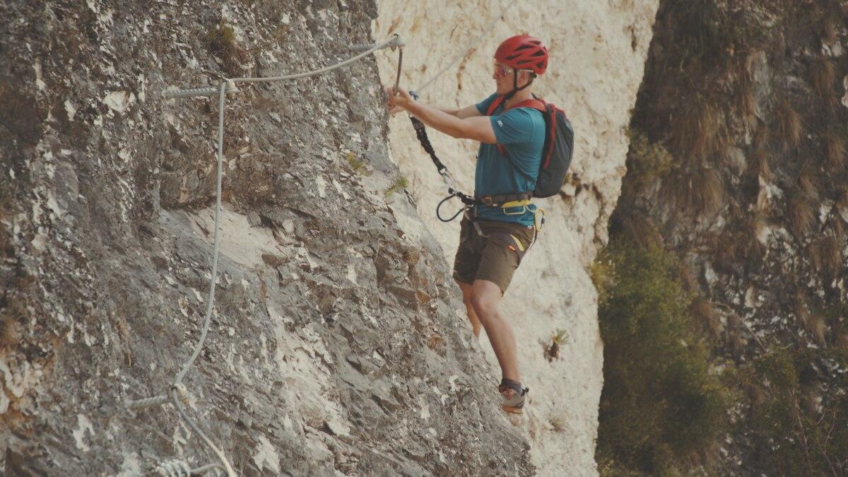 Klettersteig Griffen : Klettersteige: schlossberg griffen klettersteig 0km bergwelten