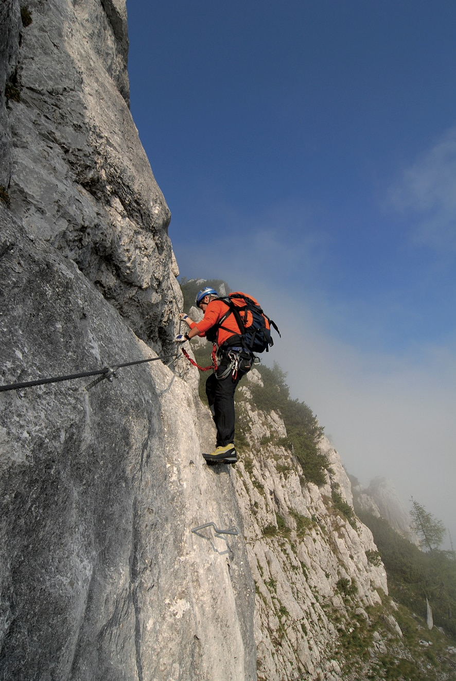Klettersteig Plattkofel : Klettersteige pidinger klettersteig km bergwelten