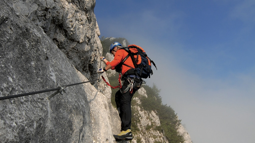 Klettersteig Rating : Klettersteige: pidinger klettersteig 15km bergwelten