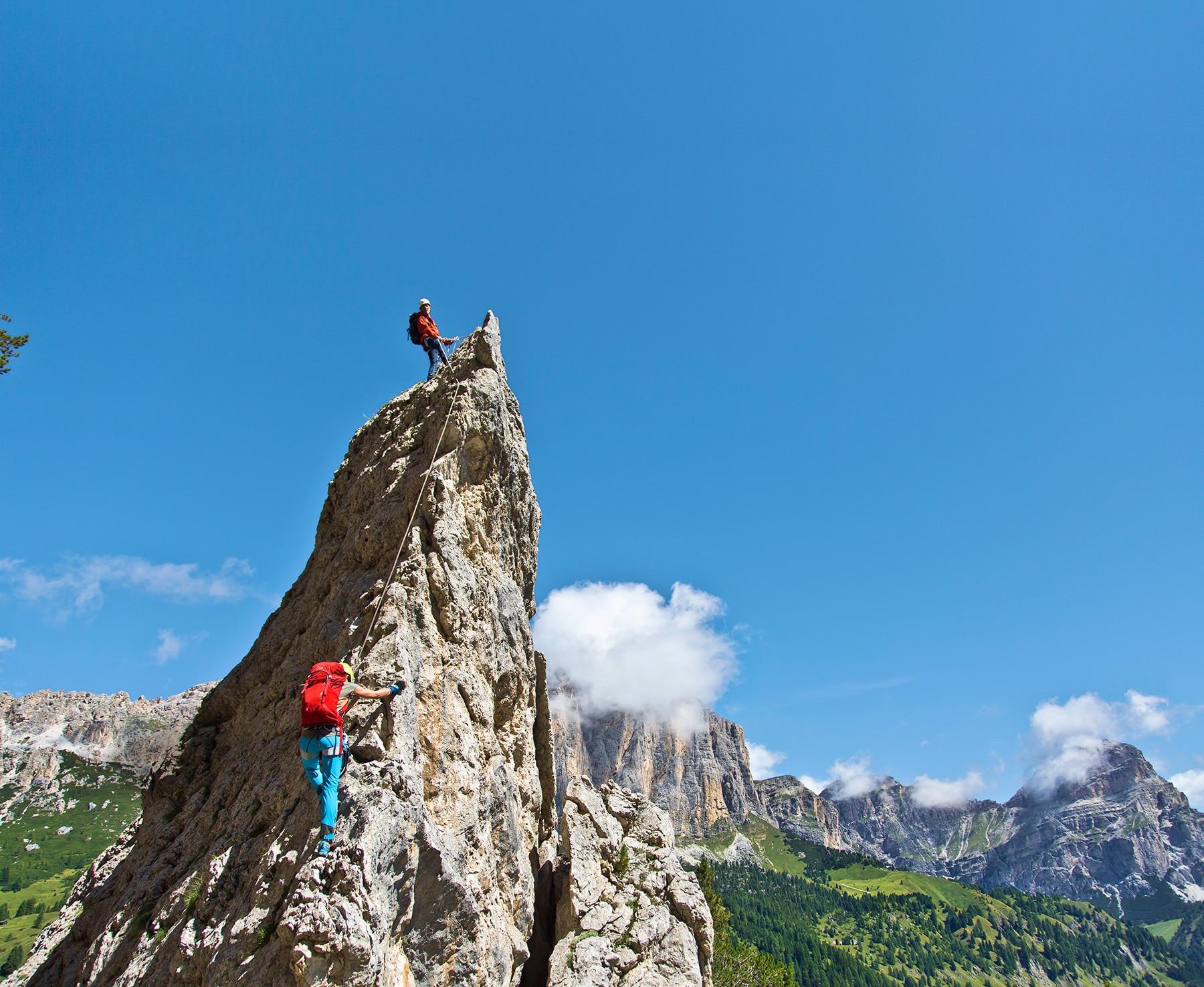 Klettersteig Pisciadu : Pisciadu klettersteig fotos hikr