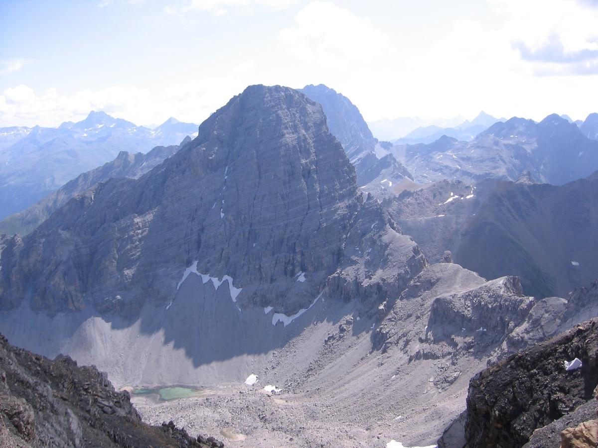 Klettersteig Piz Mitgel : ▷ wandern: piz mitgel bergwelten