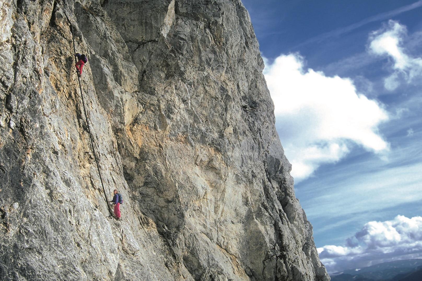 Klettersteig Rax : Klettersteige haidsteig bergwelten