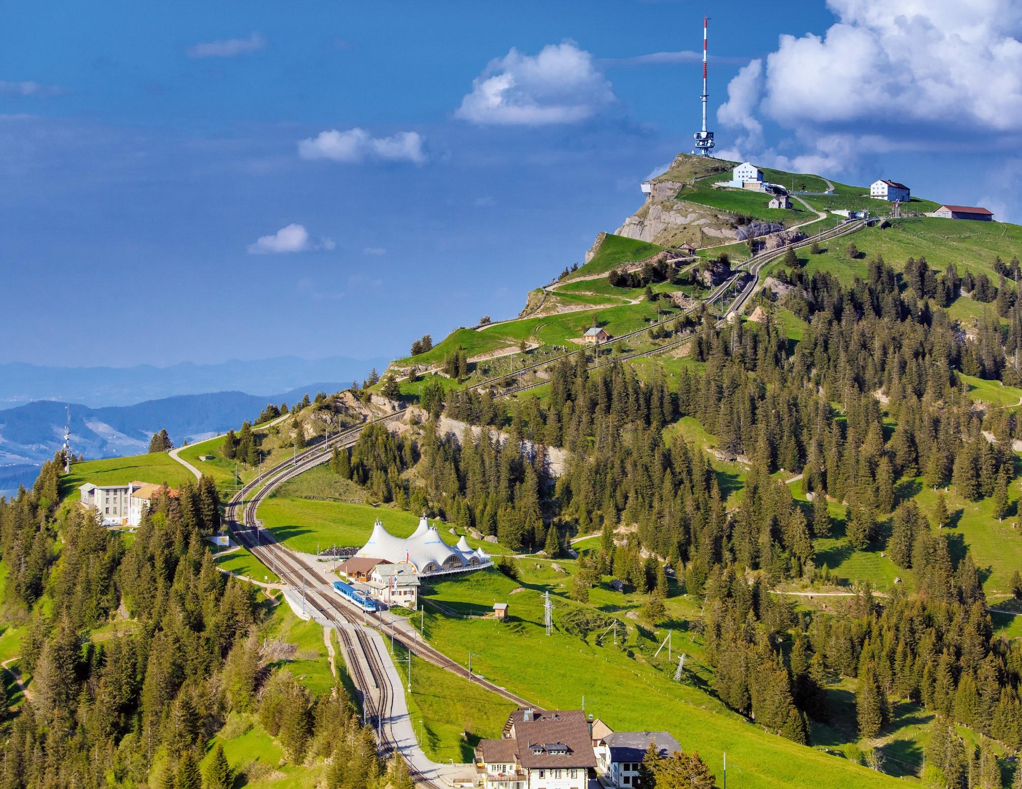 Wandern Rigi Kulm Rigi Kaltbad Bergwelten