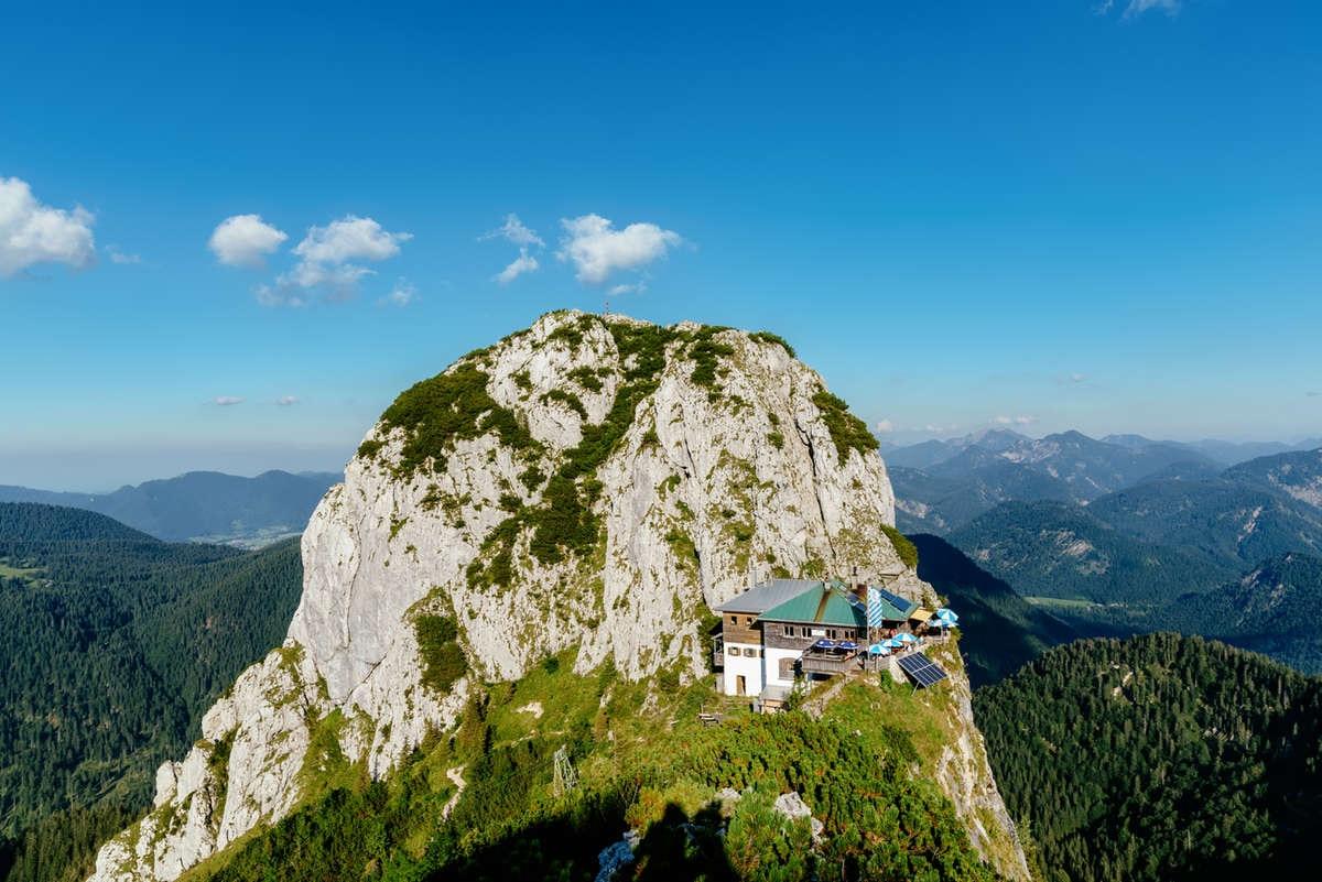 Klettersteig Tegernseer Hütte : Wandern wanderung zur tegernseer hütte von bayerwald km