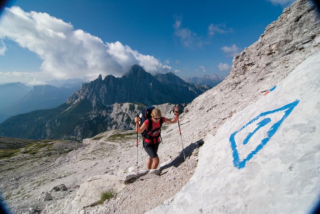 Klettersteigset Leihen München : Wandern: münchen nach venedig etappe 21: rifugio bruto carestiato