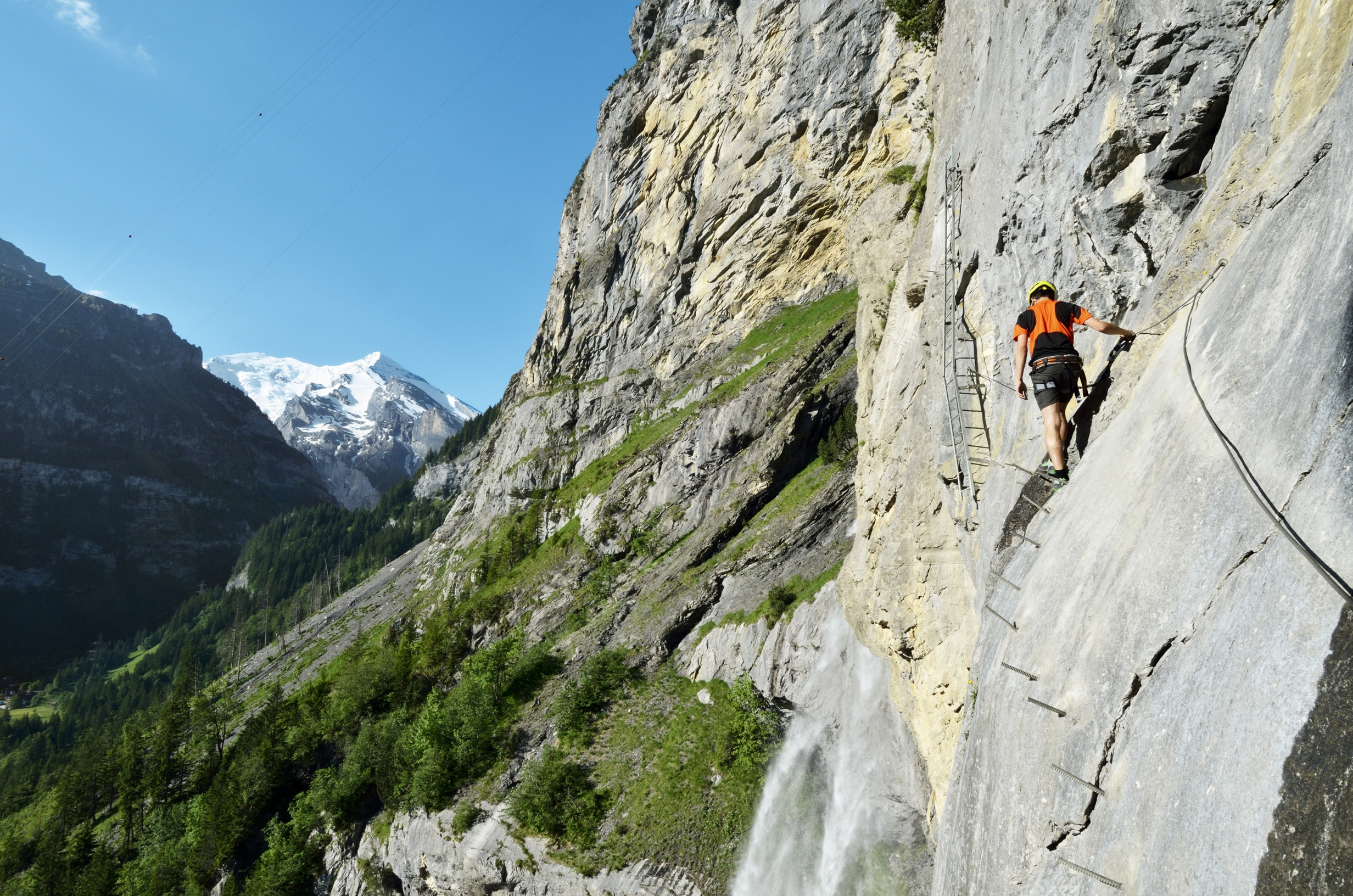 Klettersteig Ostschweiz : Klettersteige schweiz bergwelten