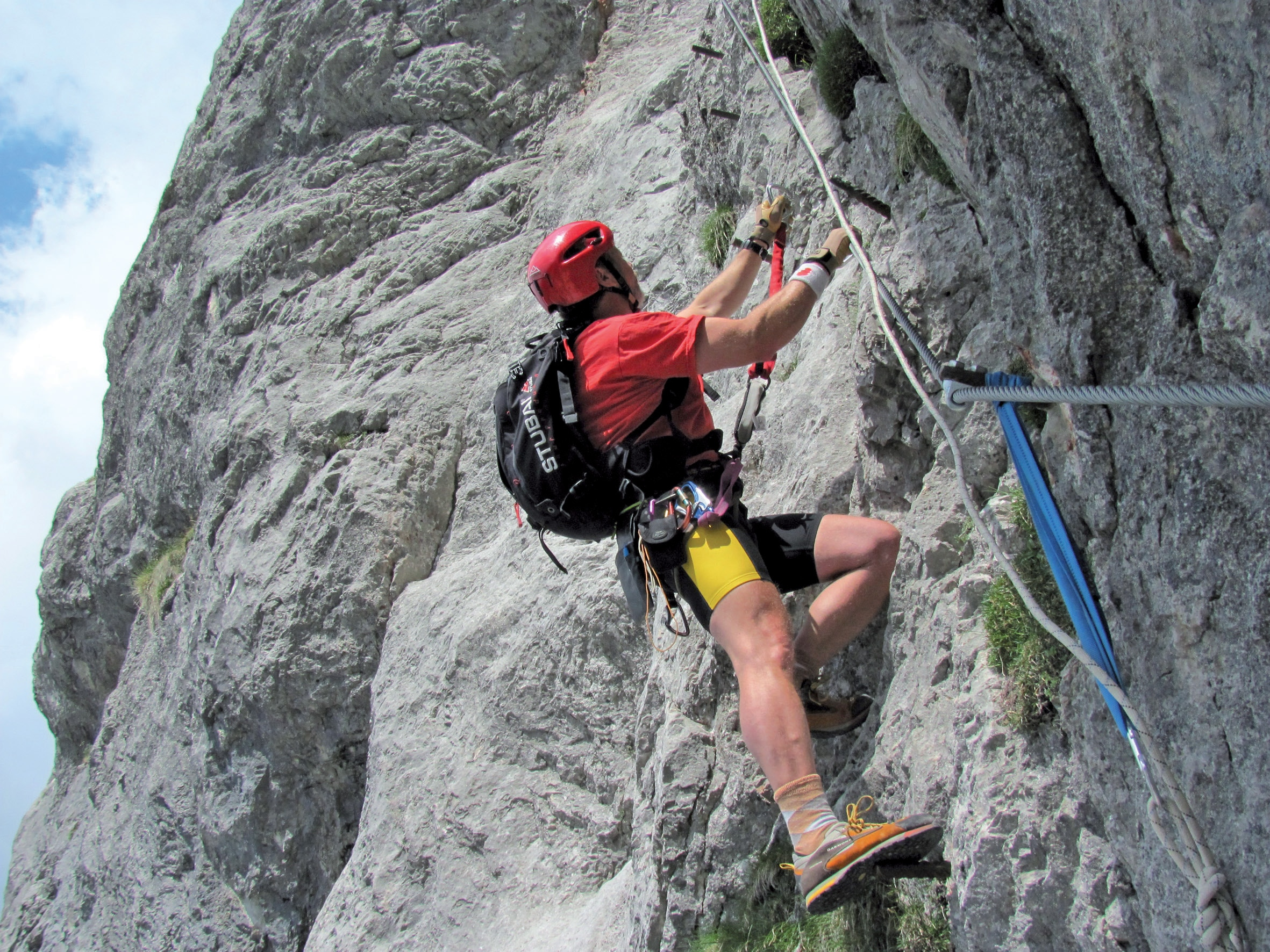 Klettersteig Wachau : Klettersteige anna klettersteig km bergwelten