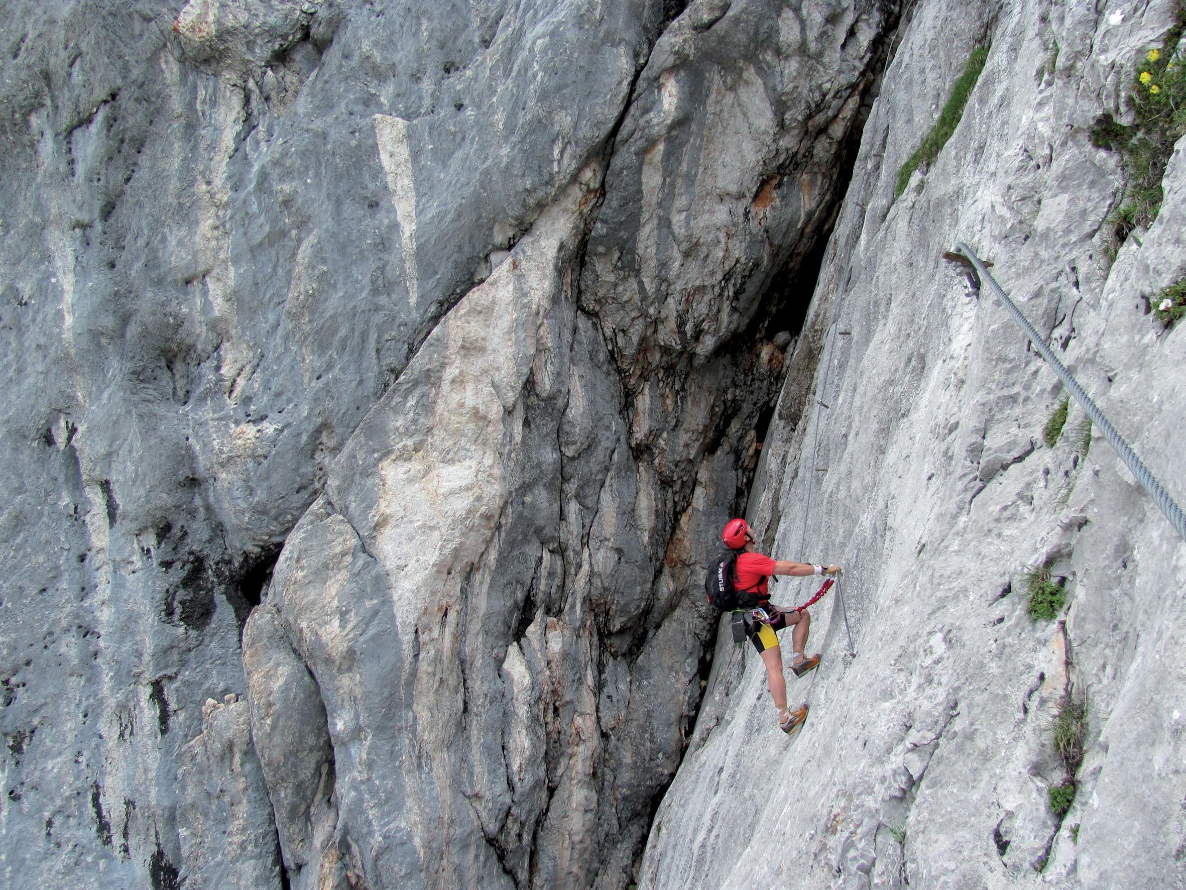 Klettersteig Johann Topo : Klettersteige anna klettersteig km bergwelten