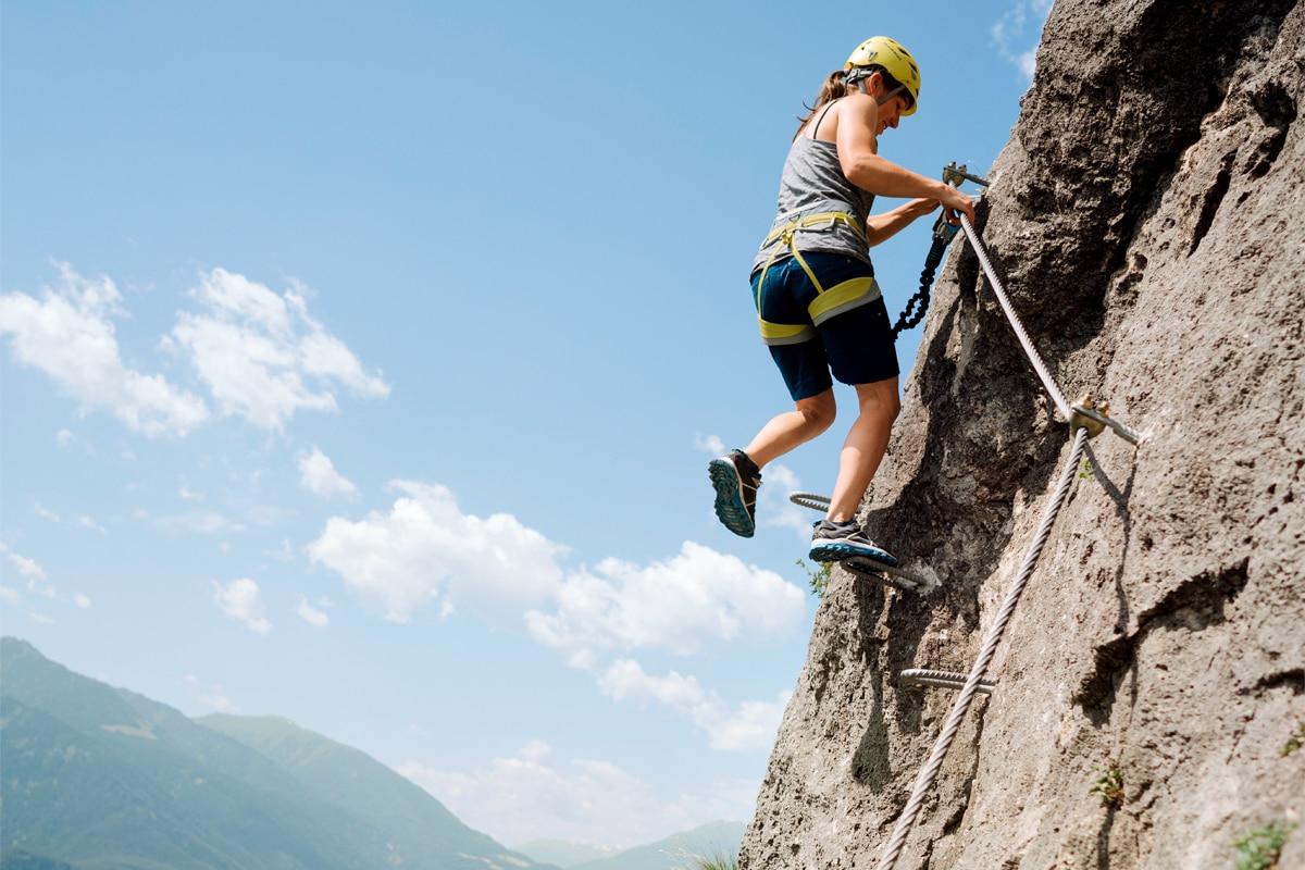 Klettersteig Geierwand : Klettersteige: geierwand klettersteig 0km bergwelten