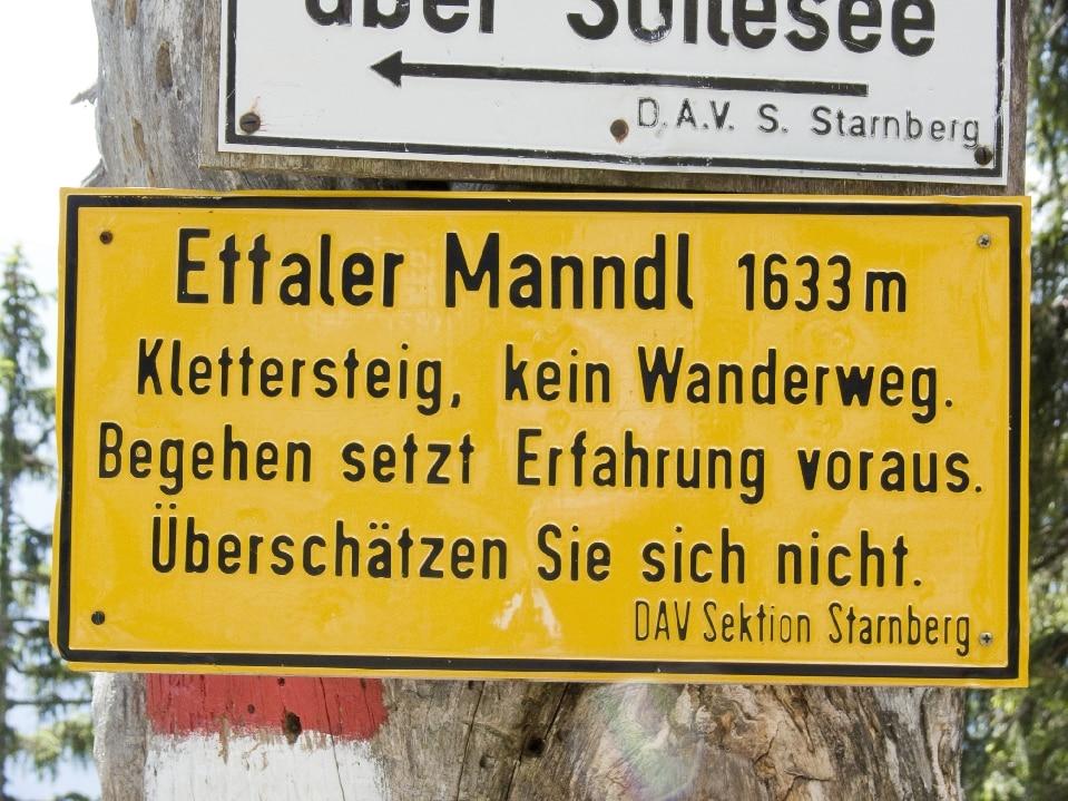 Klettersteig Am Ettaler Mandl : Klettersteige: ettaler manndl 6km bergwelten