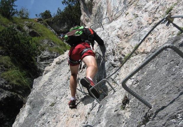 Klettersteig Grünstein : Vorderponholz grünstein