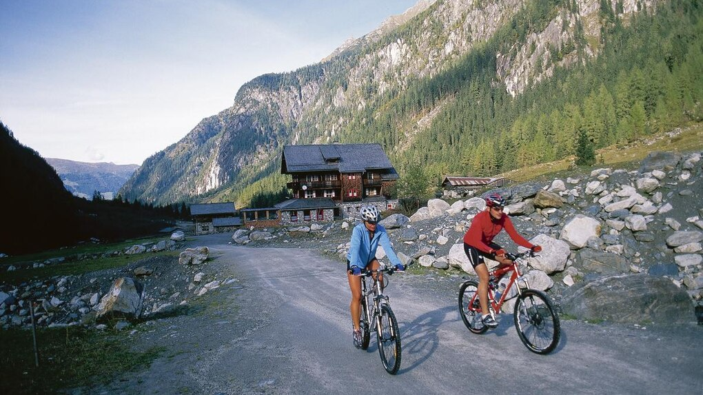 Mountainbike Tour ins Habachtal