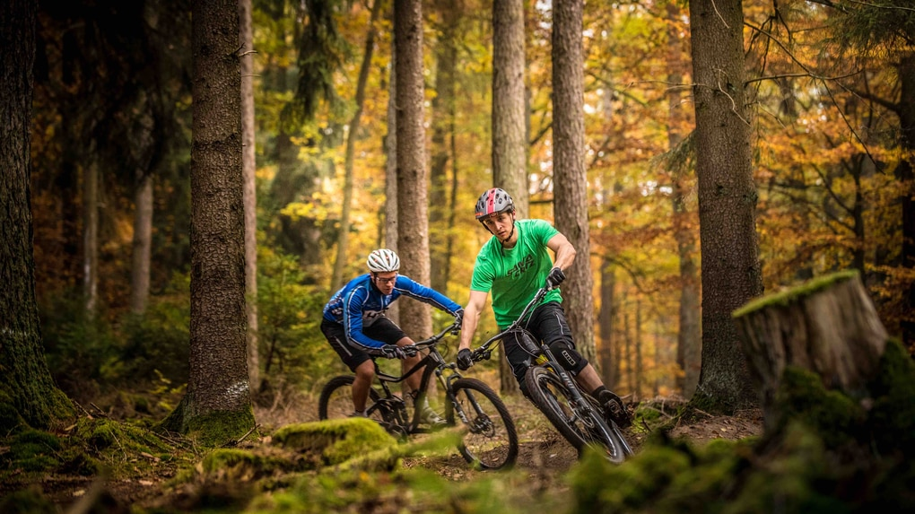 Unterwegs am Haseltal-Trail
