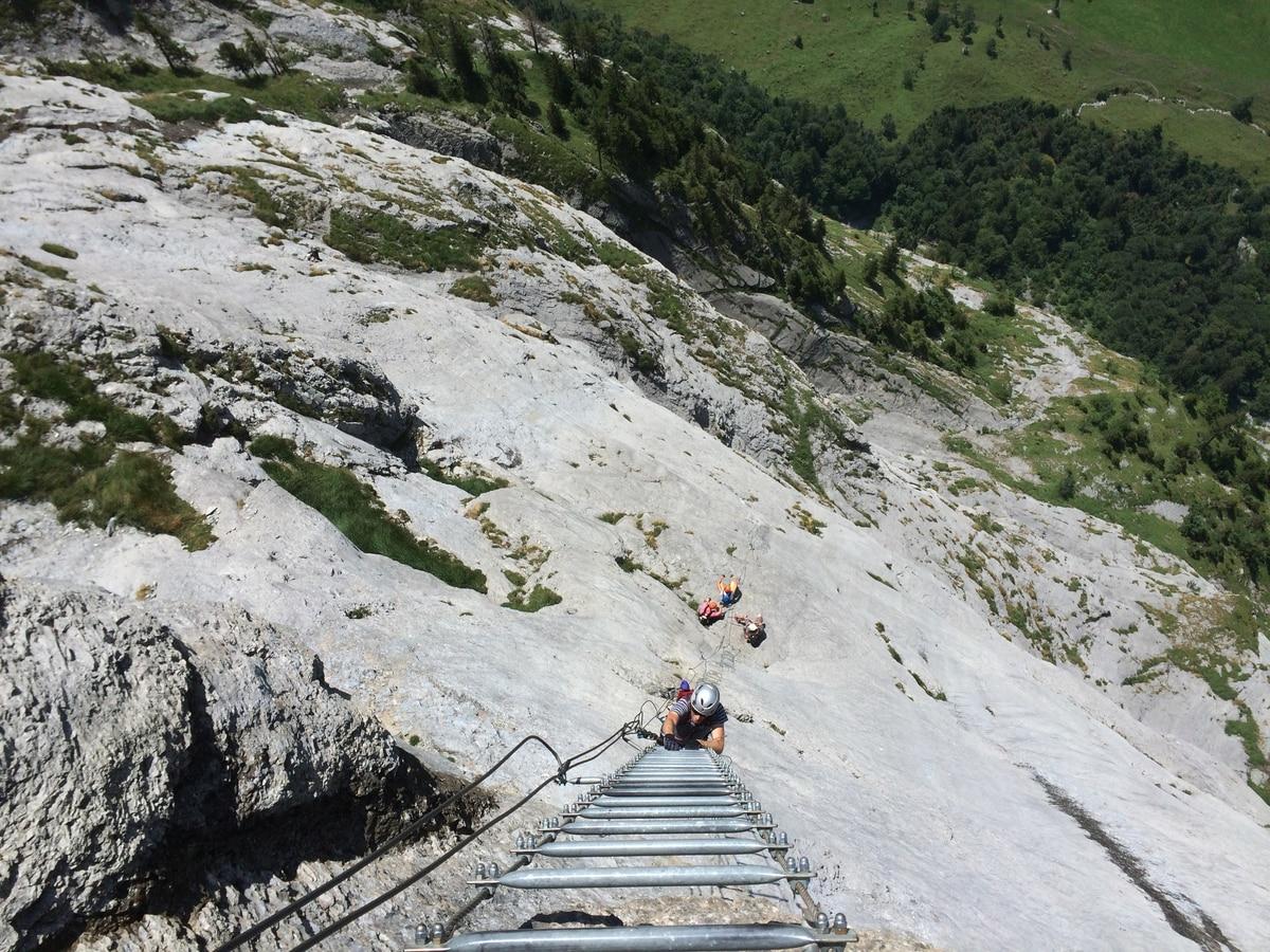 Klettersteig Uri : Klettersteige: klettersteig fürenwand 2km bergwelten