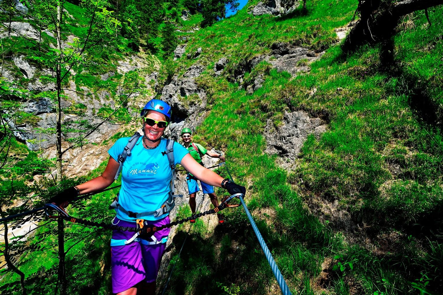 Klettersteig Reit Im Winkl : Klettersteige klettersteig reit im winkl km bergwelten
