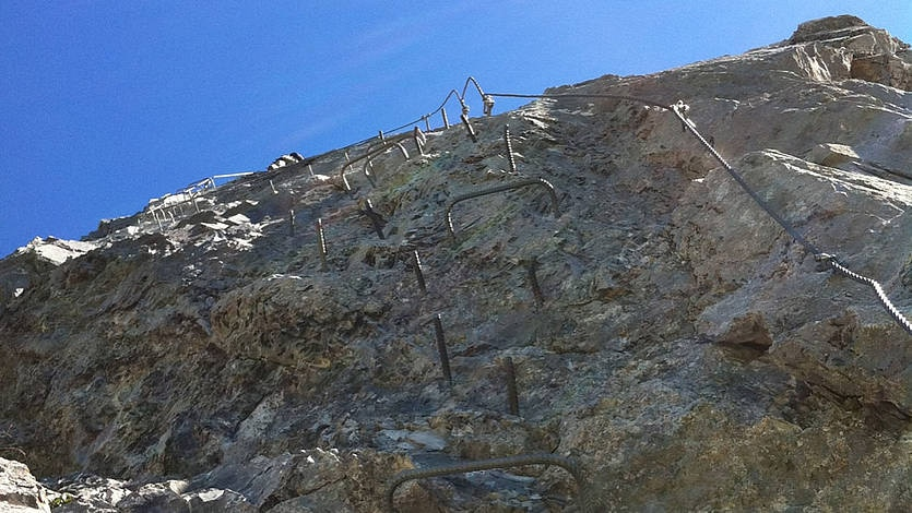 Klettersteig Rigidalstock : Klettersteige klettersteig rigidalstockgrat km bergwelten