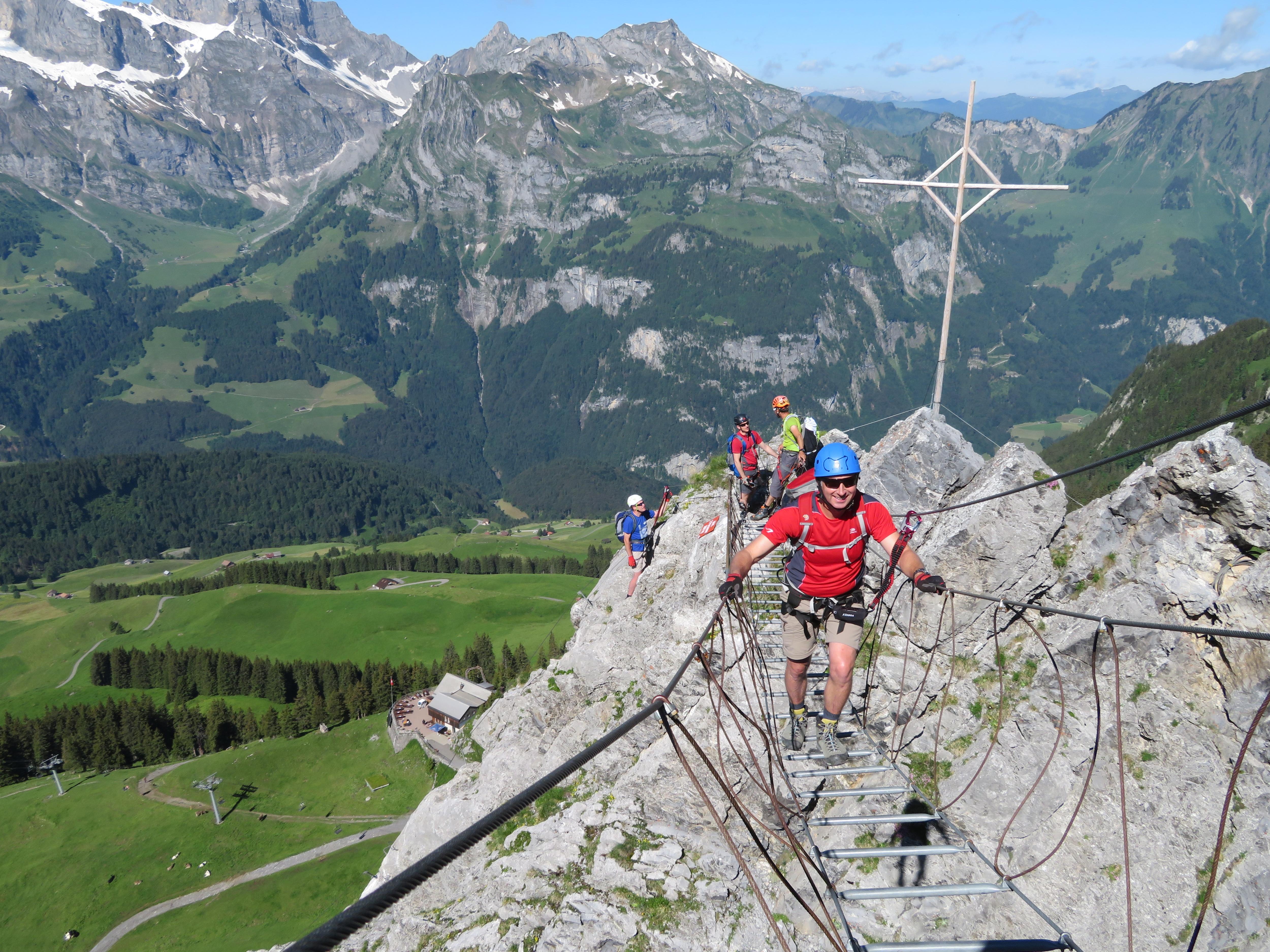 Klettersteig Bern : Klettersteige schweiz bergwelten