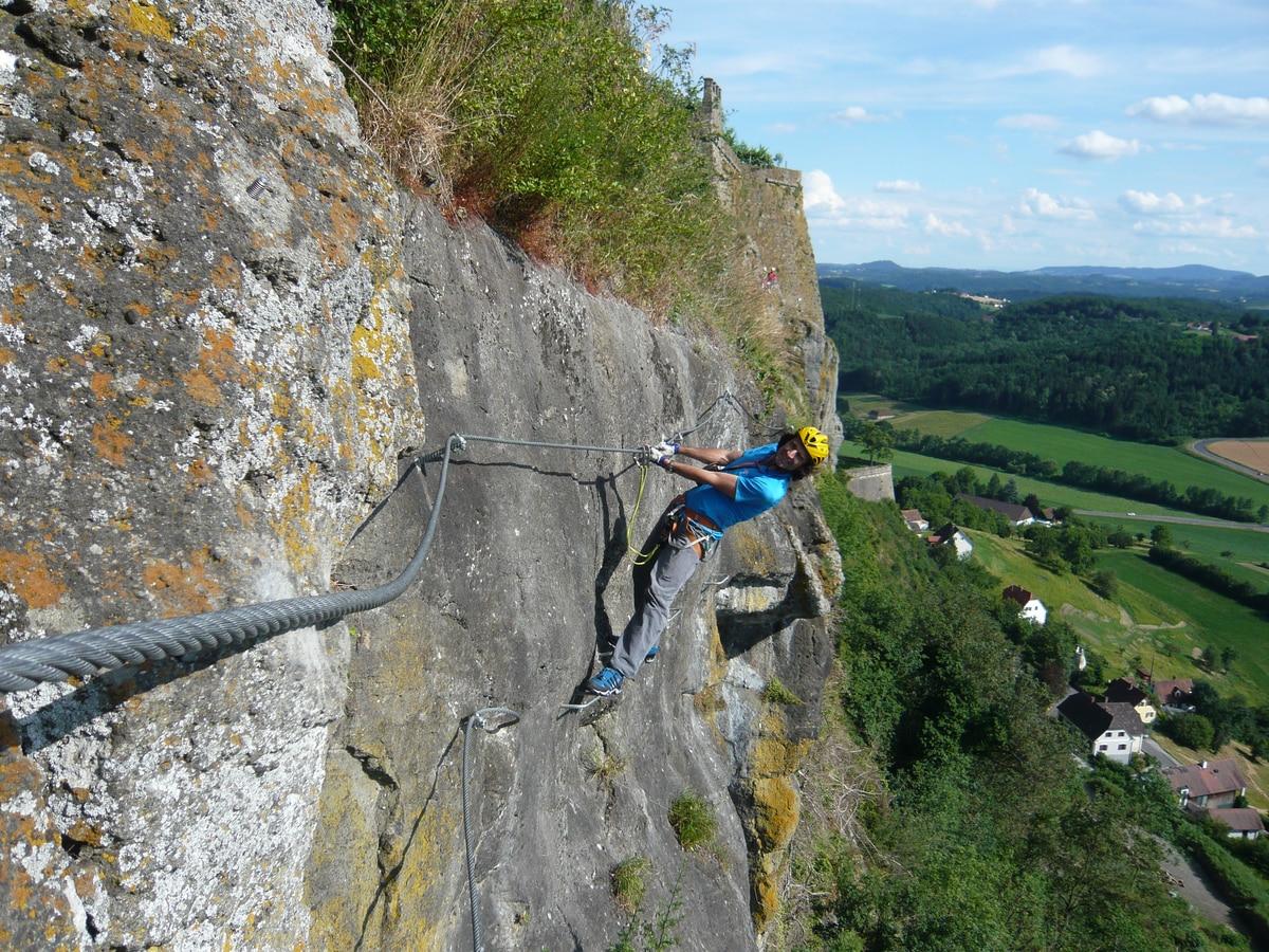 Klettersteig Griffen : Klettersteige: leopold und heinrich klettersteig 0km bergwelten