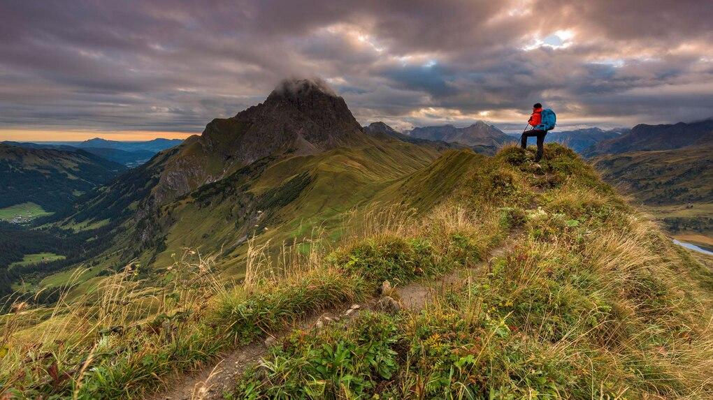 Klettersteig Schwarzhorn : Wandern: first schwarzhorn 9km bergwelten