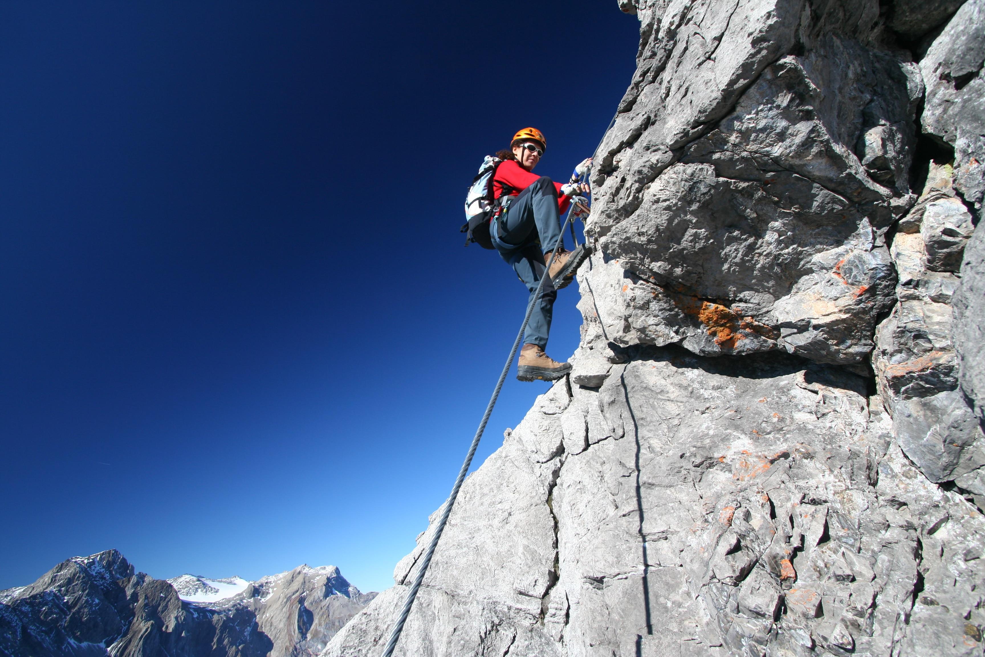 Klettersteig Bavaria : Klettersteige saula klettersteig km bergwelten