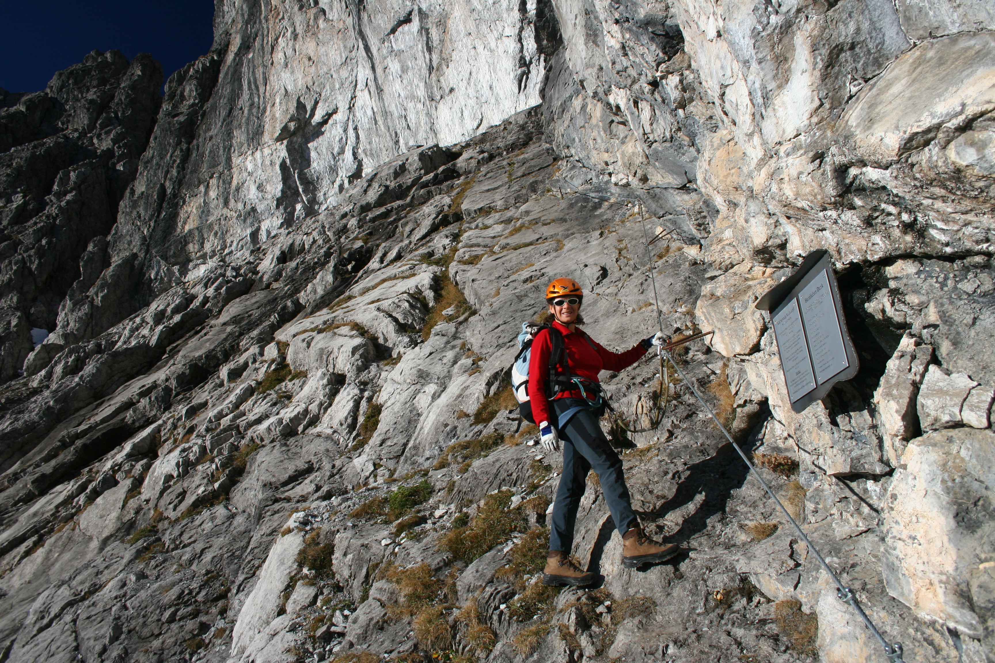Klettersteig Basel : Klettersteig chäligang engstligenalp bern aktivitäten