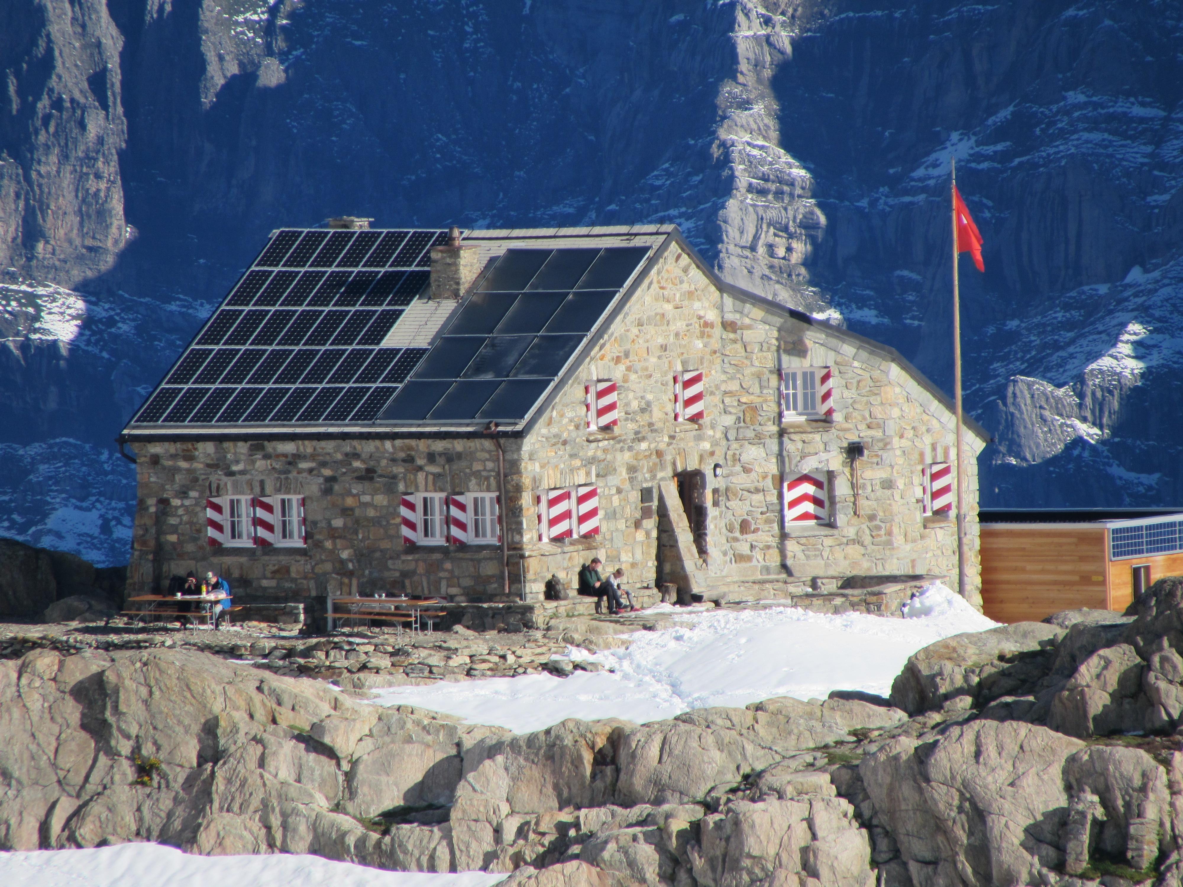 Klettersteig Tierbergli : ▷ wandern wanderung zur tierberglihütte über umpol bergwelten