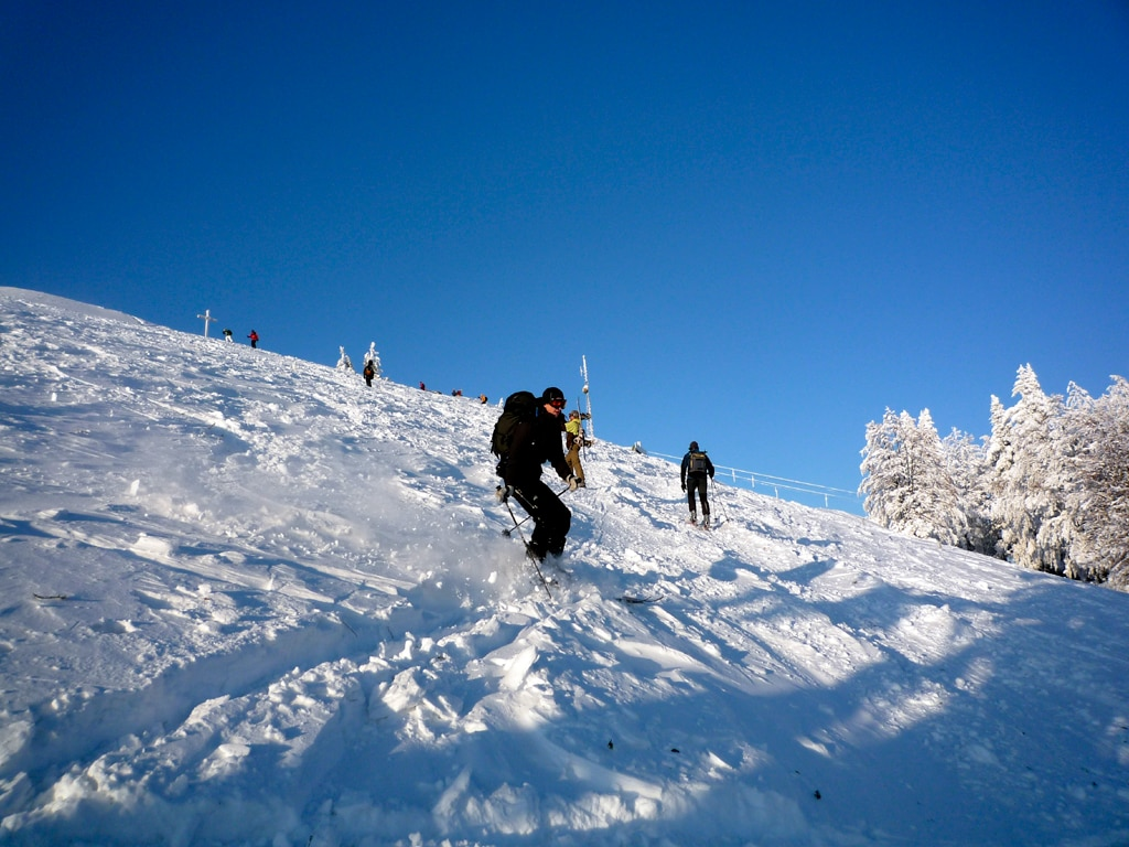 Skitouren Unterberg Ost 11km Bergwelten