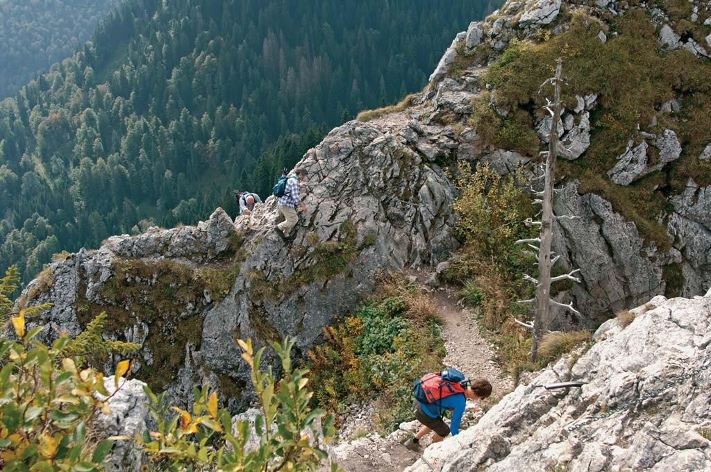 Ettaler Mandl Klettersteig Unfall : ▷ wandern: zum ettaler manndl bergwelten