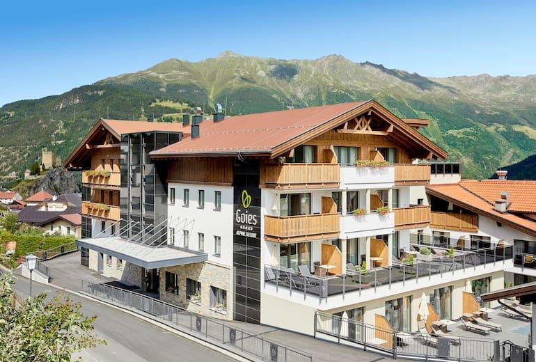 Alpine Resort Goies Aussen