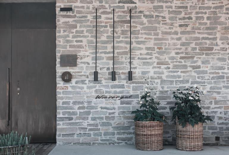 Designhotel Wiesergut Eingang