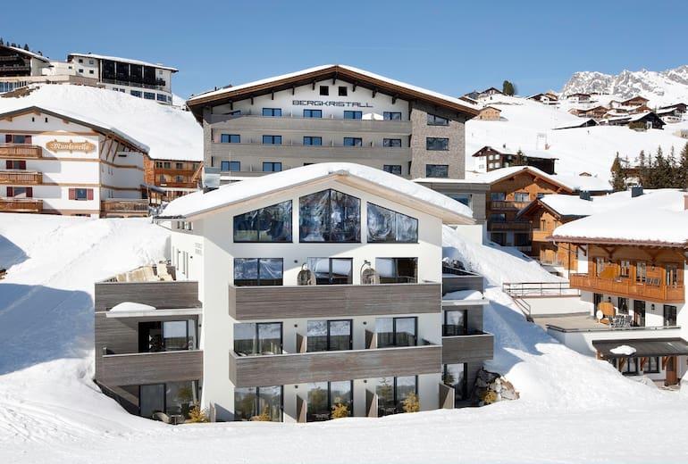 Hotel Bergkristall Wrann Aussen