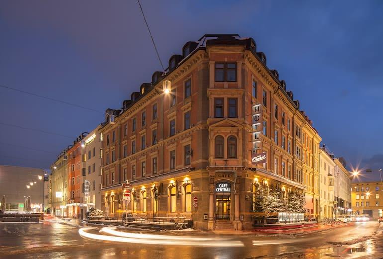 Hotel Café Central Aussen