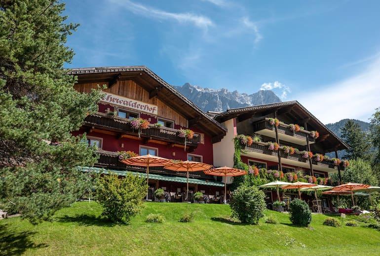 Hotel Ehrwalderhof Außen